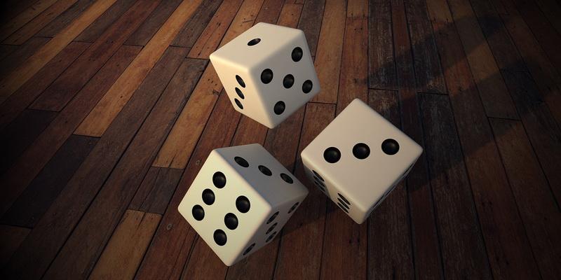 3 dice - craps rules for dummies