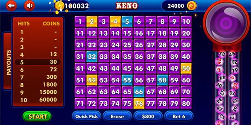 Keno game rules - how to play Keno